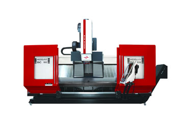 Hedelius RS-505 K18 - 5-axis simultaneous machining in shuttle operation